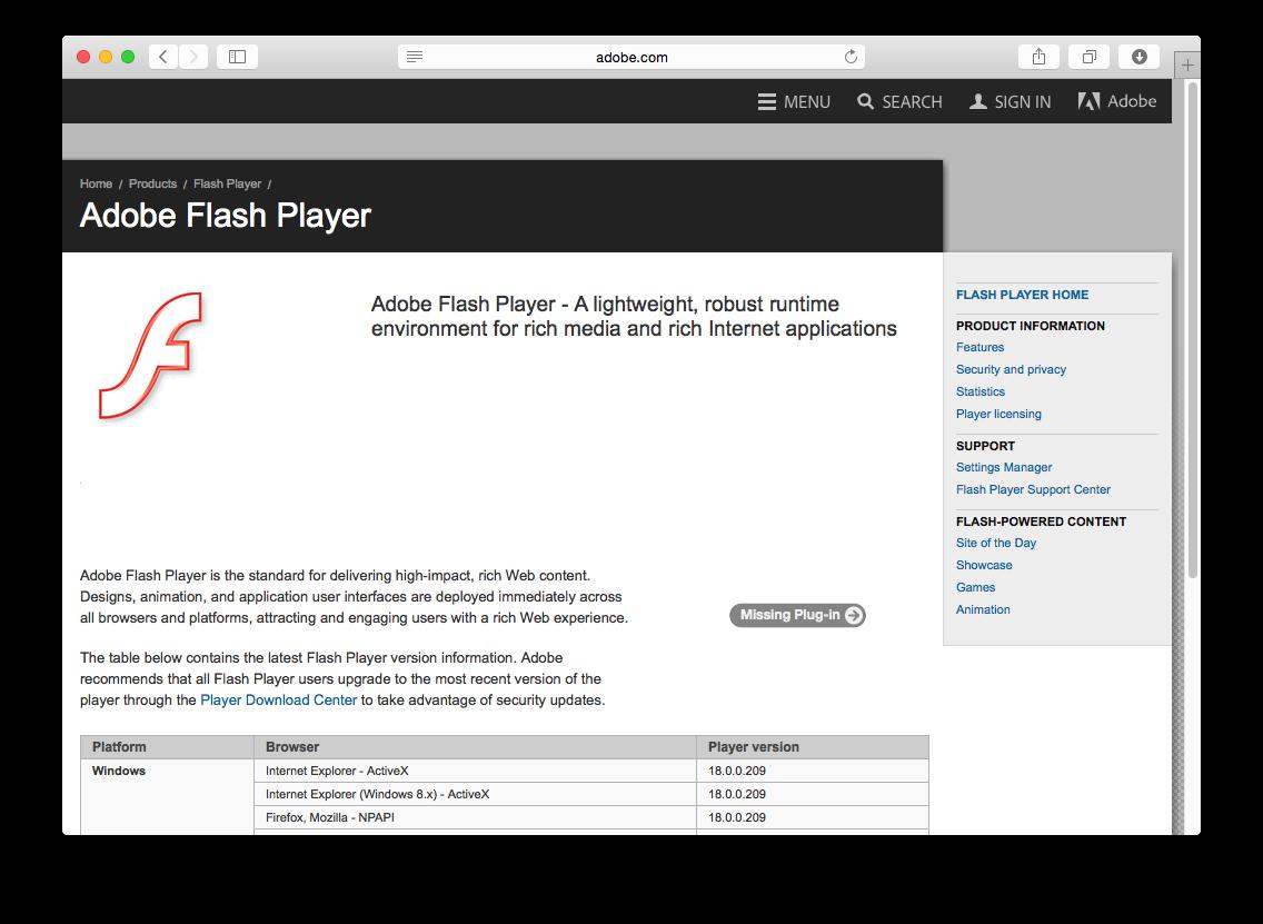 telecharger adobe flash player 21 activex